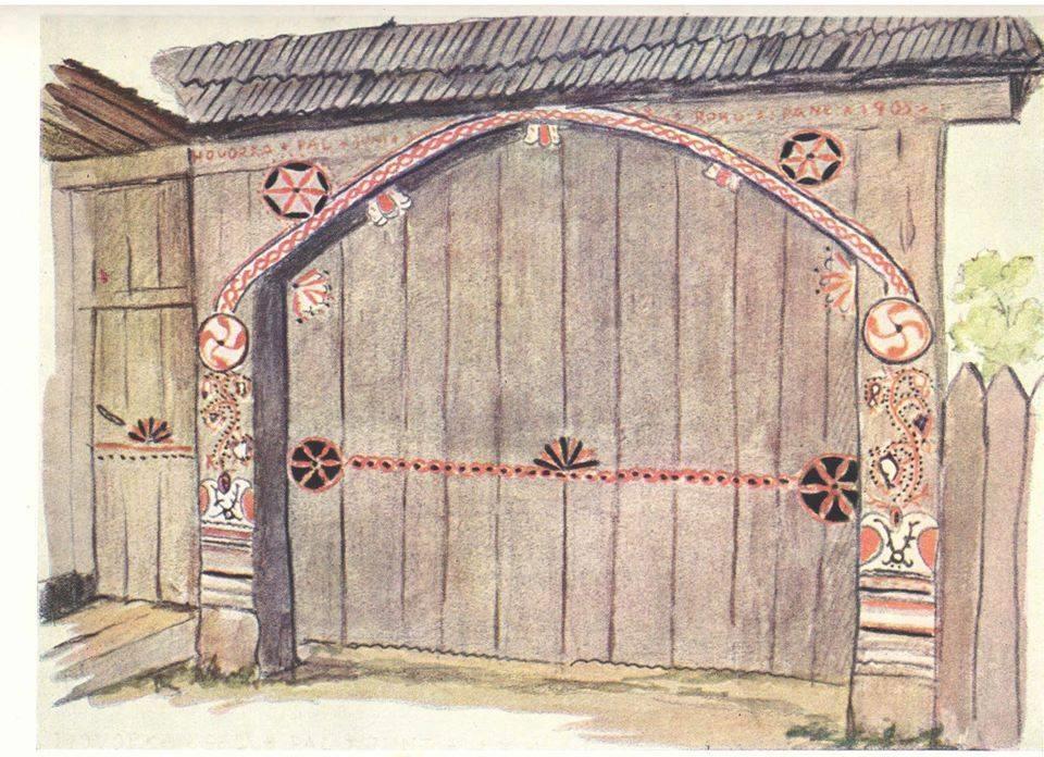 Cea mai veche scriere din lume, pastrata in painea vlahilor. Svastica – simbol tanatic principal al vlahilor. Folk-arch