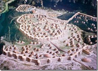 Copper Age walled city, Los Millares, Iberia