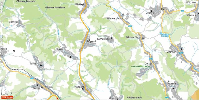map2web