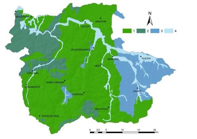 Bazinul-superior-al-Crisului-Repederepartitia-apelor-subterane-1-roci-impermeabile